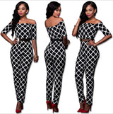 Overall Pant Print Dresses plus belt - Owame