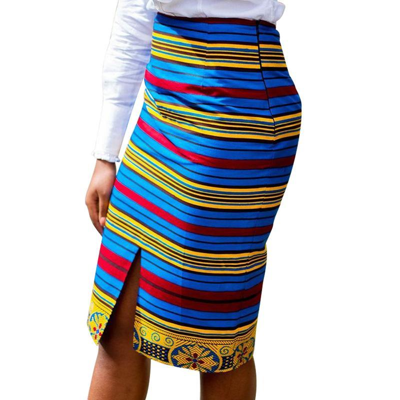 2017Beautiful lady casual skirts African fashion batik fabric mini skirt Women african clothing ball gown skirt retail