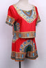 Image of Traditional African Ethnic Print Dashiki Top and Short - Owame