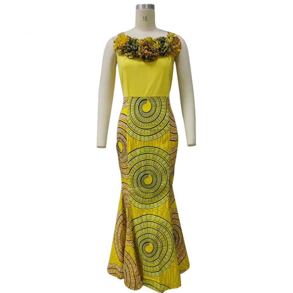 African Ankara dress - Owame