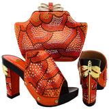 Italian to match Shoes and Bag Set for Wedding - Owame