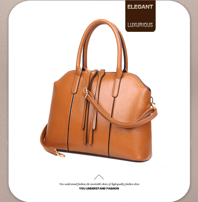 Vintage PU Leather Handbags Sets - Owame