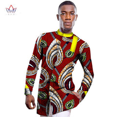 a674dc9b39a68 ... Wholesale 2017 African Shirt For Men Print Wax African Plus Size Custom  Full Sleeve Top Dashiki