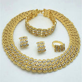 Jewelry sets, Necklace,Bracelet,Earring and Ring - Owame
