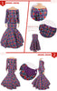 Image of African Custom Traditional Skirt and top Set Plus Size for Women - Owame