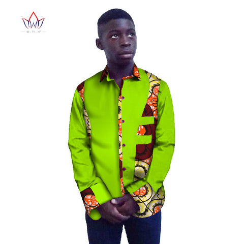 a4307d5eaffc ... Image of Casual Men Long Sleeve Shirt Brand Clothing African Dresses  Men Clothes Slim Fit Men ...