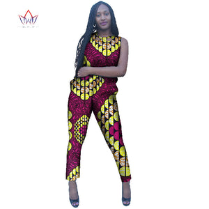 c3b18f7f43057 Autumn Rompers Womens Jumpsuit 2016 Play suit Rompers Bodysuit Women  Dashiki Pants African Traditional Clothing Hot ...