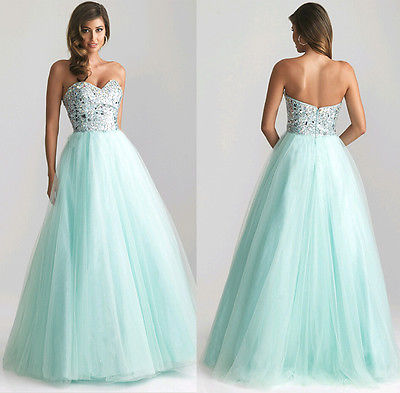 Prom Dress, Princess Light Green Long Dress, Sexy Evening Party Ball Gown,Prom Gown,Formal Bridesmaid Cocktail dress - Owame