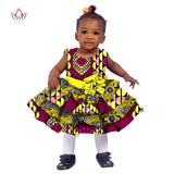 African kids dashiki Traditional Cotton Children Dresses