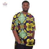 African Print Clothing Dashiki for Men t Shirts Mens Half Sleeve Mens Shirts Brand Clothing Plus Size 6XL African Clothes WYN08