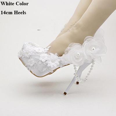 2016 White Spring Dress Shoes  Satin Wedding Shoes Round Toe Tassel Crystal Bridal Shoes  Popular Bridal  Dress Shoes