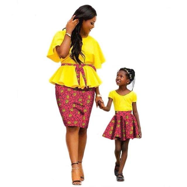 8e2dbfec29 African print dresses for mother and daughter,African dress for ...