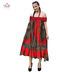 cae137eaaf Summer African Women s Print Dresses African Dashiki Traditional clothing  African Print Dress for Women Plus Size ...