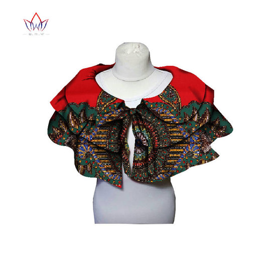 African print Collar and Bowknot detachable collars for ankara dresses