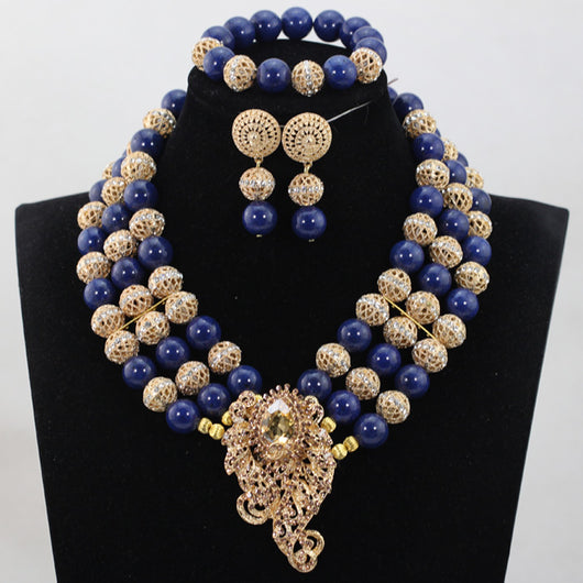 Unique Royal Blue Coral Beads Jewelry sets Nigerian African Wedding Bridal/Women Beads Necklace Jewelry Sets, Big bold african jewelry Set,Large Orange Coral Bead Set/African Wedding Coral Bead Set/ Nigerian Bridal Beads Sets/African Coral Beads Sets