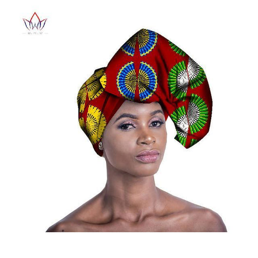2017 Handmade Multi-color Headwear Headtie Ankara Head Decorations Wrap Scarf African Ankara Printed Head Wrap BRW WYB230