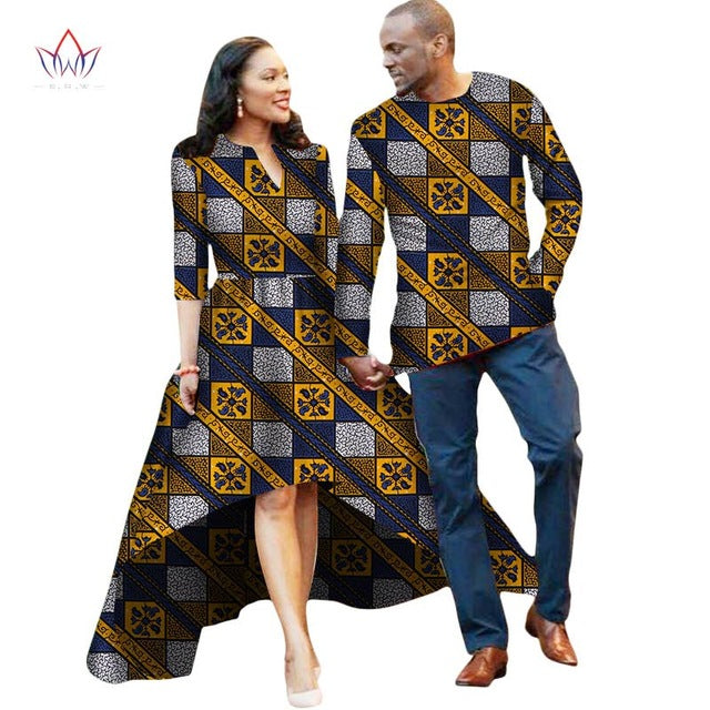 Couple Or Lovers Dashiki African Dress For Women And Men
