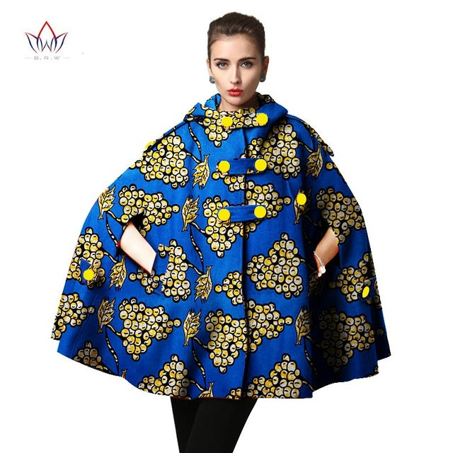 74a4a3b053b91 Hover to zoom · African Trench Coat for Women Plus Size African Clothing  Africa Print Outfits Dashiki Office Outwear -
