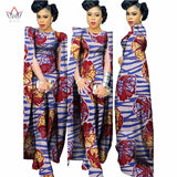Africa Wax Print Blazer Rompers Fitness Jumpsuit#owame11