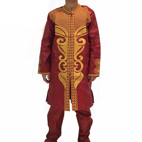 African Traditional Men's Clothing for Wedding - Owame