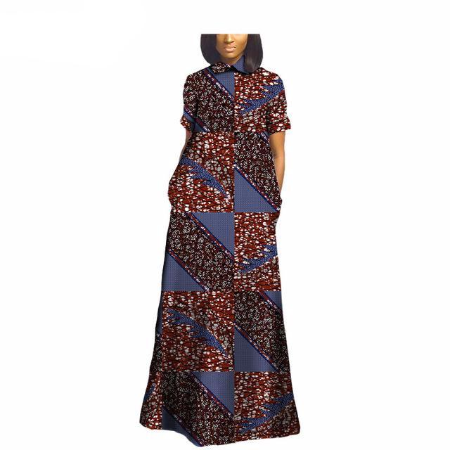 African styles clothing short sleeve long Dashiki Dress,Dashiki Dress, African Dress,African fashion,African Fabric,African Clothing - Owame