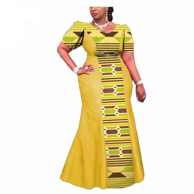 Private Custom African Print Traditional Ankara Dress for Women - Owame