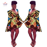 New Fashion Women African Clothing Lapel Long Sleeve Trench Coat Ladies Open Front Tie Waist Casual Long Outerwear Coats WY528