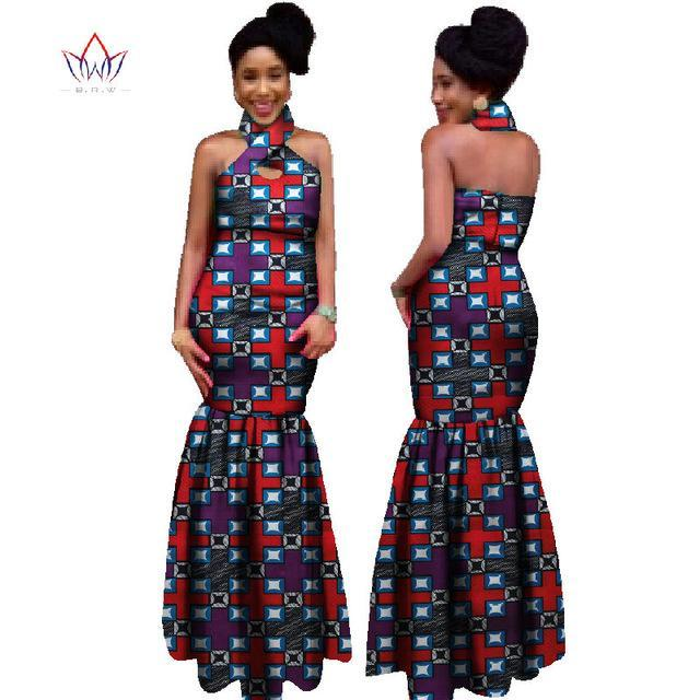 2017 African Skirt Sets Africa Design Bazin Riche Wax Top & Skirts Print Traditional African 2 piece Clothing For Women WY121