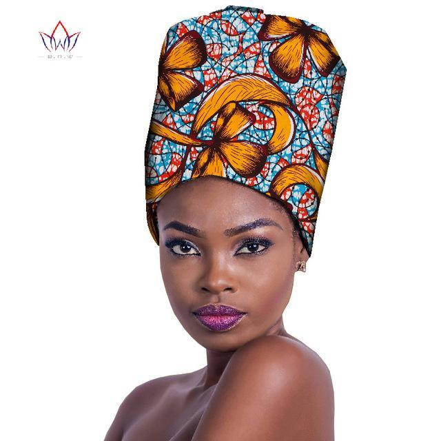 2017 High Quality African Headtie African Headtie & Wrapper For Wedding New Style Print Bandanas for African Head Scarfs WYB231