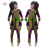 Two Piece Set Wax Top and Pants Women Suits Two Piece Set  African Women Clothing Plus Size 6xl Custom sets-0wqa78