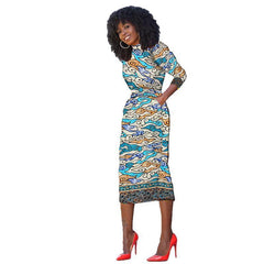 de809f5fdfb 2017 elegant african belt dress for women robe africaine femme style  dashiki traditional clothes bazin riche ...