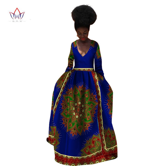 African print Wedding dress,African Long Sleeves prom dress,African wedding dress,Ankara prom dress,African clothing,Ankara Gown