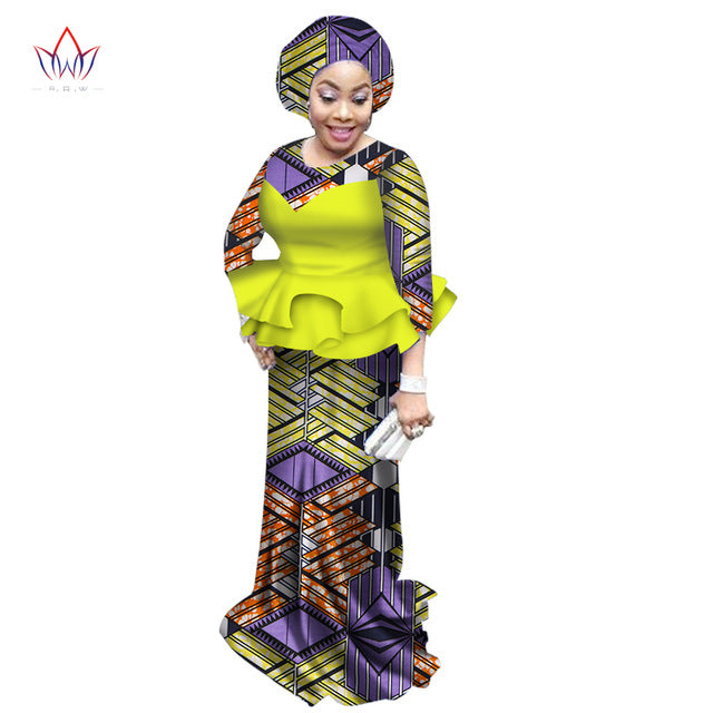 30ab8565395e38 Gorgeous African Print Style Long Skirt and Blouse,African Fashion ...