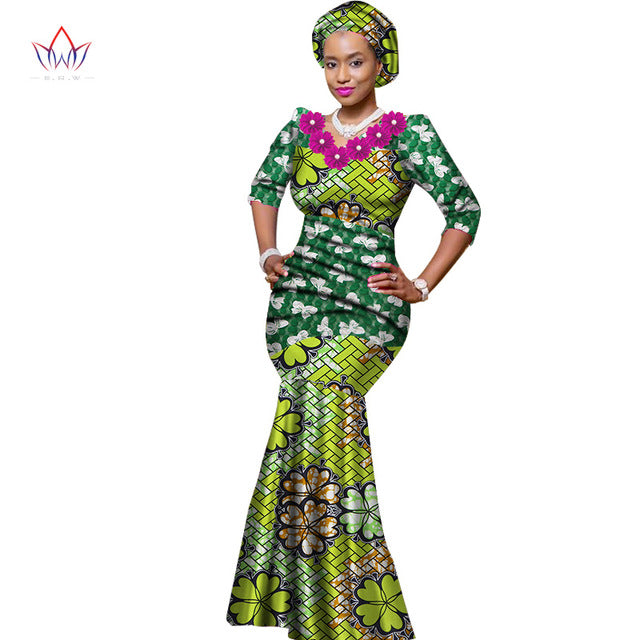 d66826235a38 African print occasion dress/ African prom dress/African wedding ...