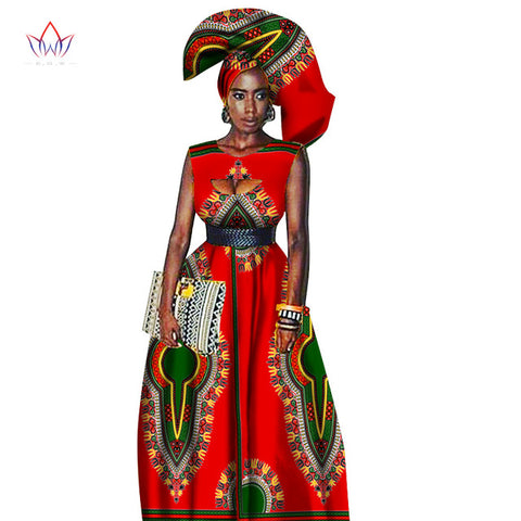 Traditional African Women Clothing African Print Wax Custom Long Dresses, Dashiki Print long dress, African Clothing,African Maxi Dress,African