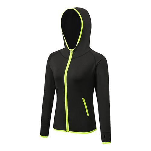 2017 YD Long Sleeve Sport Shirt Men Hat+Zipper Women's Running T-shirts Gym Sports Clothing Sport Top Men's Sportswear Rashgard