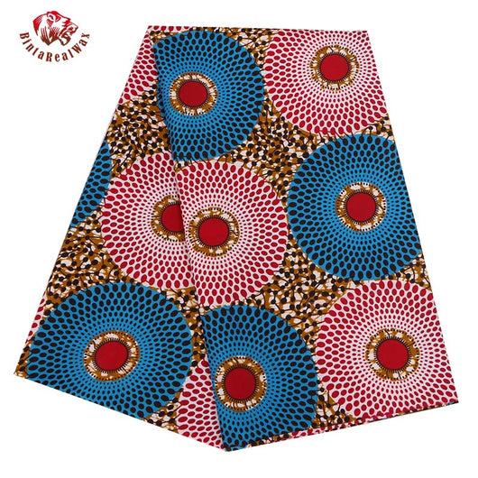6 Yards High Quality Ankara African Polyester Wax Prints Fabric Super Hollandais Wax African Fabric for Party Dress