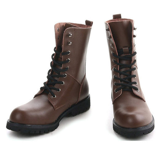 Genuine Leather - Ankle Autumn Boots | Size 38-49 -0WB5436