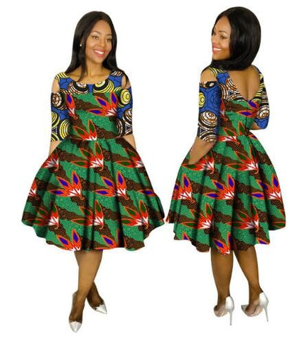 Robe Africaine Promotion Cotton African Dresses For Women In African Ankara Clothing 2017 New Style African Women Clothing