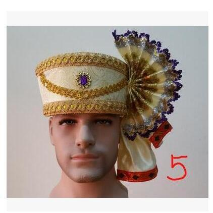 2017 Dai traditional Scarf Hat Thailand  stage performance Hulusi playing accessories