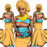 African clothes for women Skirt Set, African Designed Clothing, Traditional African Plus Size Skirt Sets