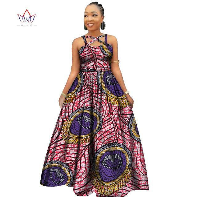 2017 Custom African New Design Sexy Party Dresses Elegant Women African Dashiki Dress for Women Africa Long Dress 2016 WY2390