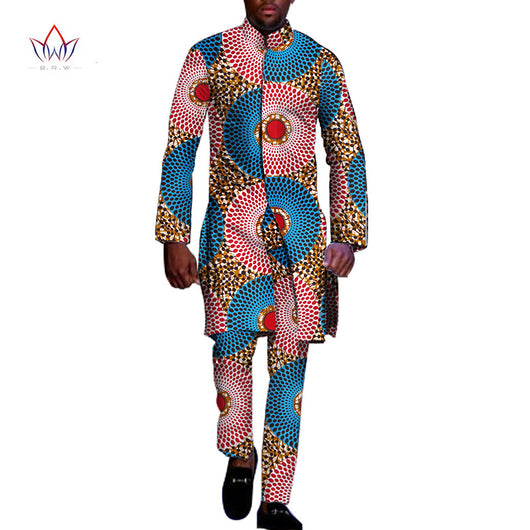 African Dashiki 2 pieces Mens Clothing Plus Size M-6XL