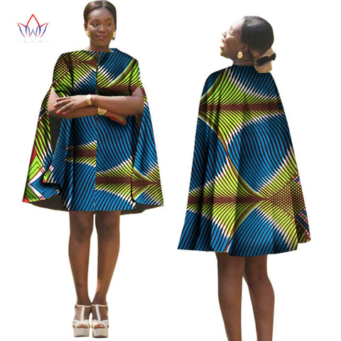 f5f6dcd6bf ... Image of Summer Africa Women Dress With Cloak African Traditional  Pattern Printed Dresses Back Zipper Plus ...