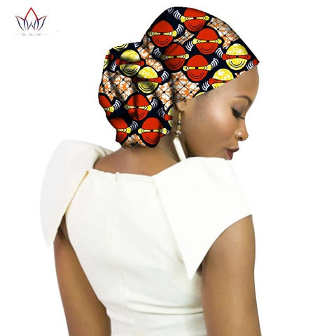 Fashion 2017 New Style African Headwear For Women Ankara Headband Decorations Wrap Tie Scarf Africa Hair