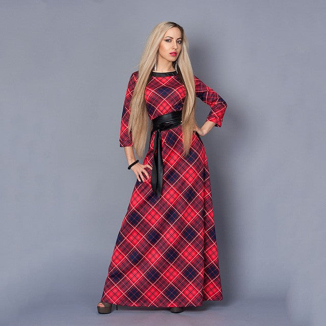 be6f44a7223141 S.FLAVOR Brand Women long Dress hot sale 2018 Spring Summer Russian Style Print  Dresses. Hover to zoom