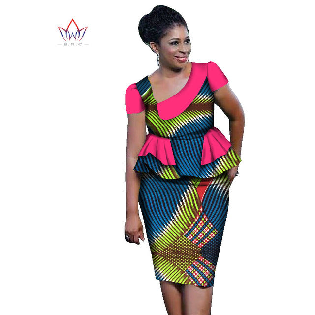 ea3637512ec ... African ankara Sets For Women Skirt Set Plus Size African Clothing Top  With Skirt ...