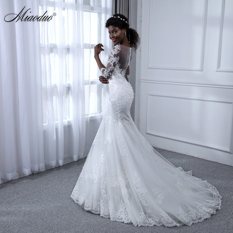 99a47da6aa3b ... Mermaid Pearls Lace Wedding Dresses Sexy Sweetheart Wedding Gowns Bridal.  Hover to zoom