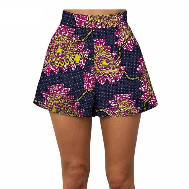 African Women summer beach shorts 100% pure cotton- Clearance