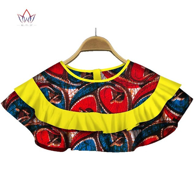 7cdfb4e15 ... Clothing Accessories African Ankara Print Fabric Chokers Necklaces  Collar for. Hover to zoom